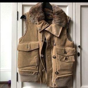 Theory fur vest